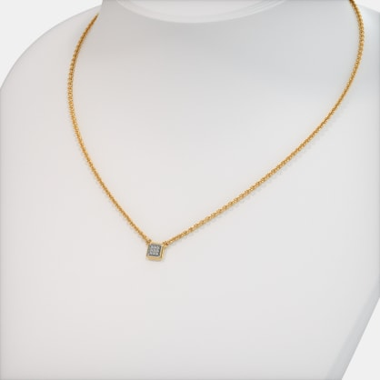 The Iola Pave Necklace