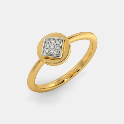 The Elong Pave Ring