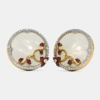 The Ihkam Disc Stud Earrings