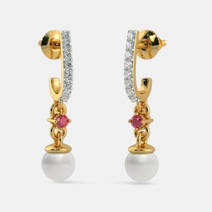 The Deema J Hoop Earrings