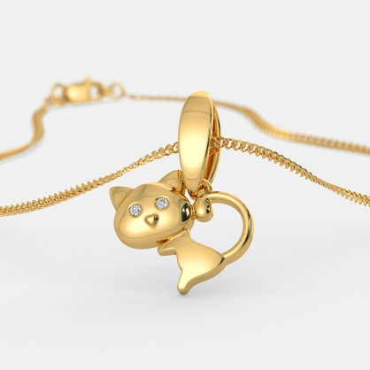 The Cute Meow Pendant For Kids