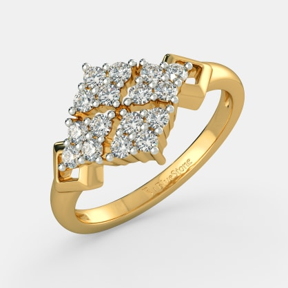 The Helios Cluster Cocktail Ring