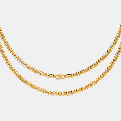 The Shravya Gold Chain