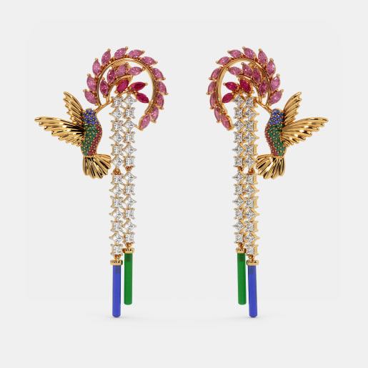 The Hummingbird Drop Earrings
