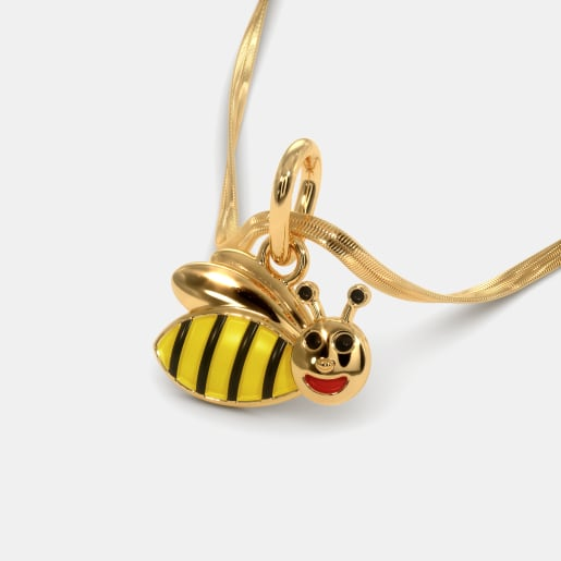The Bumble Bee Pendant For Kids