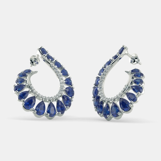 The Aadrika Hoop Earrings