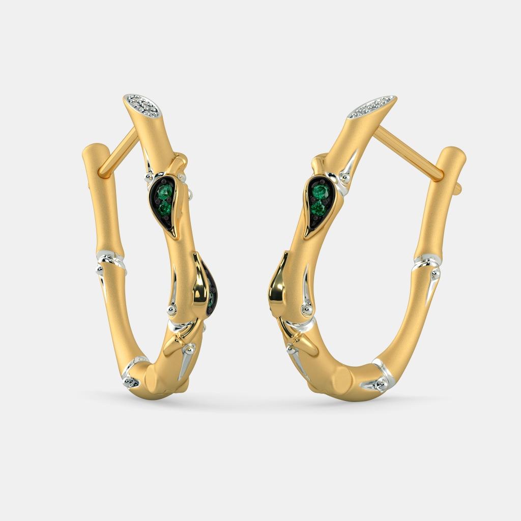 38baf92d9795d The Ilisha Hoop Earrings