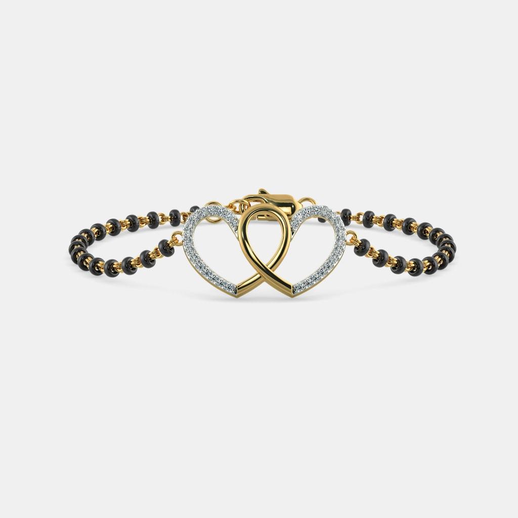 The Ihina Mangalsutra Bracelet