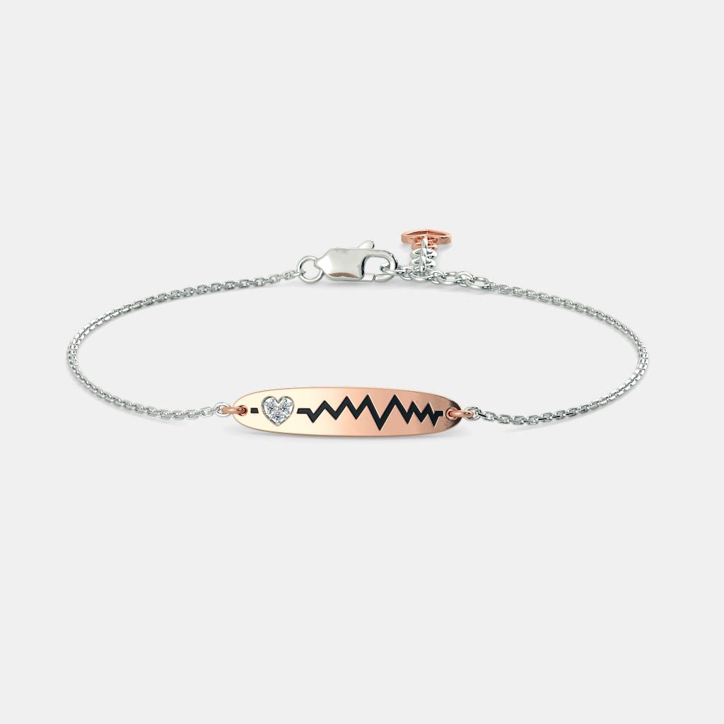 The Alia Heart Bracelet