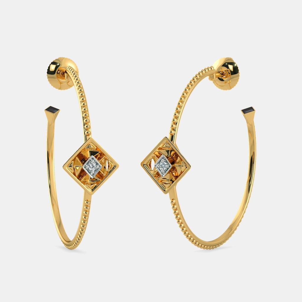 The Pinnacle Hoop Earrings