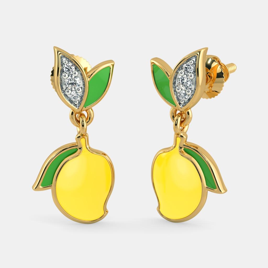 The Mango Mist Earrings for Kids