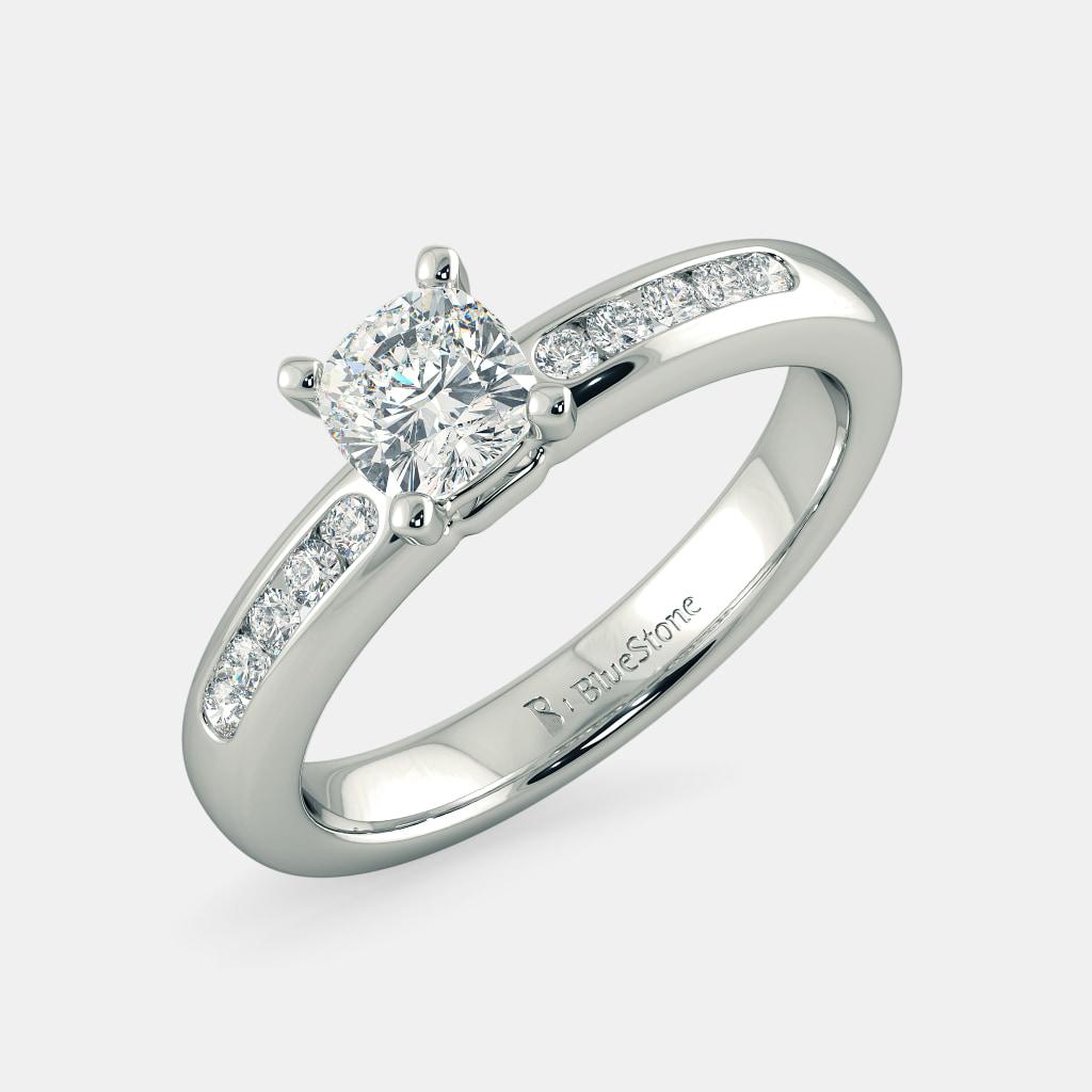 The Ladylike Radiance Ring mount