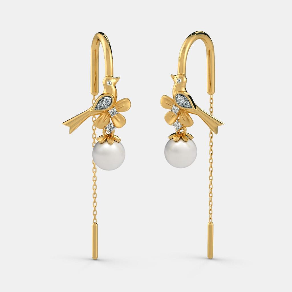 The Avelina Sui Dhaga Earrings