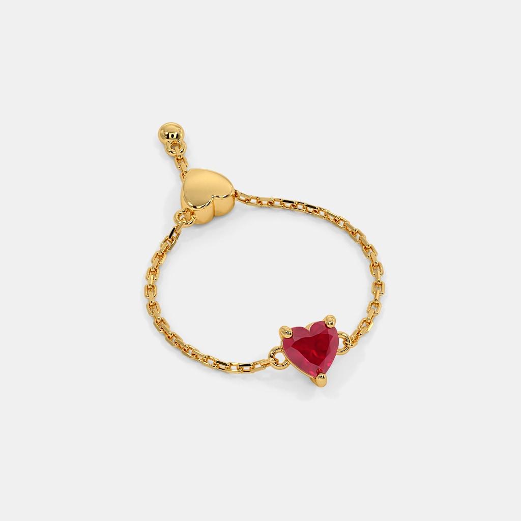 The Heartthrob Slider Ring