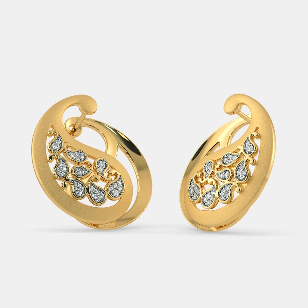 The Ellisha Hoop Earrings