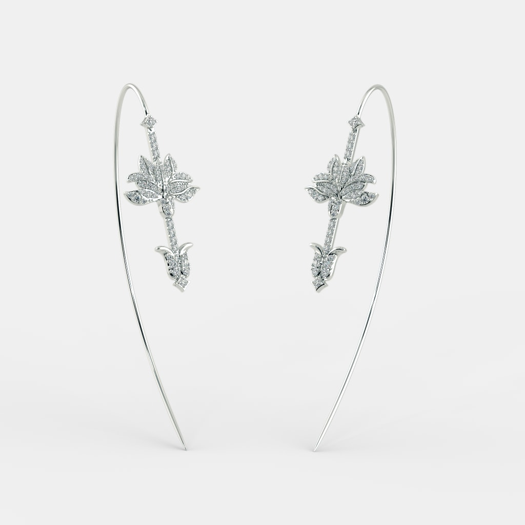 the shokufeh wire earrings