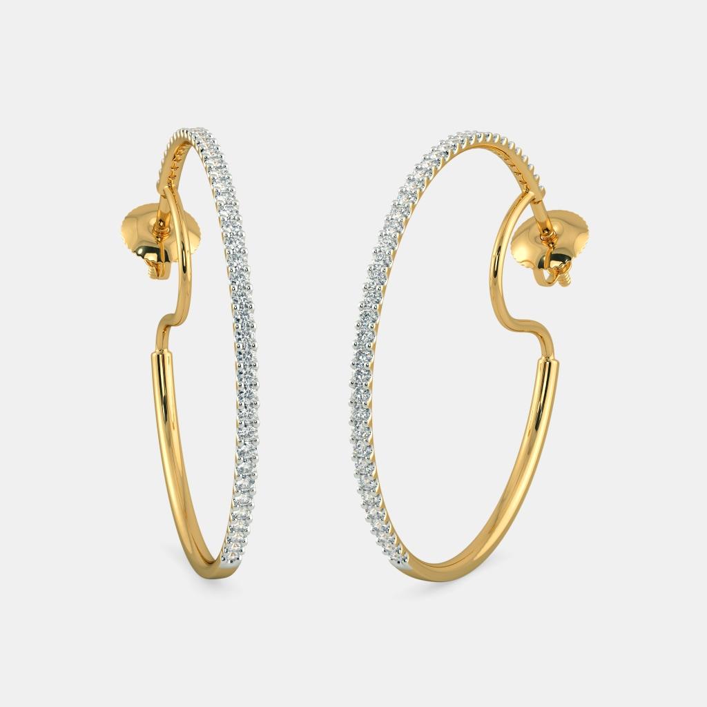 The Sirah Hoop Earrings