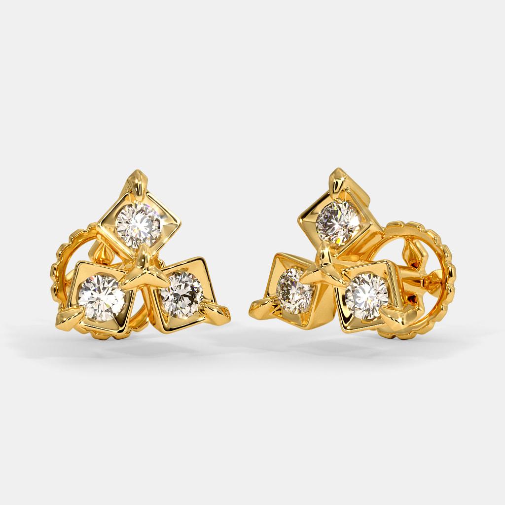 The Talavam Stud Earrings