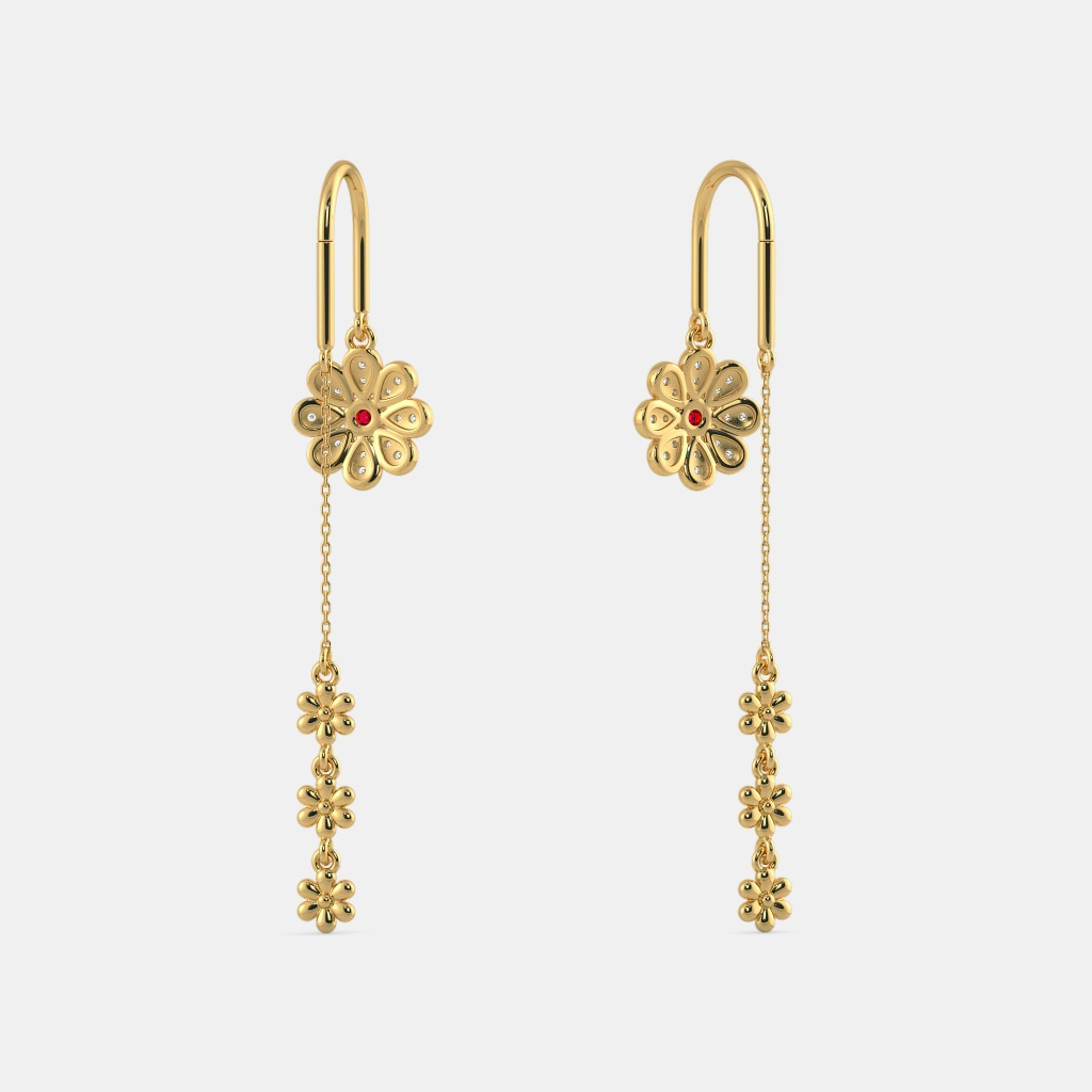 The Siya Sui Dhaga Earrings Bluestone Com