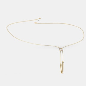 The Dual Tassel Necklace
