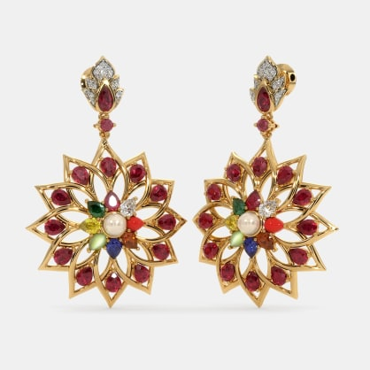 The Comeliness Drop Earrings