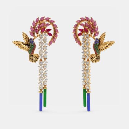 The Hummingbird Drop Earrings
