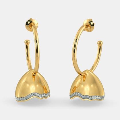 The Razzle Dazzle Hoop Earrings