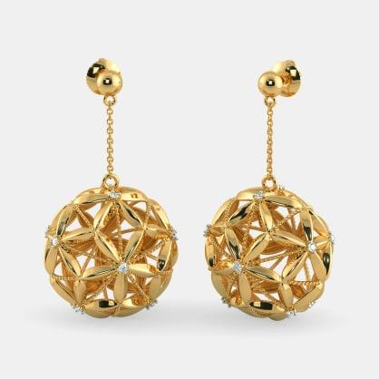 The Glitzy Glam Drop Earrings