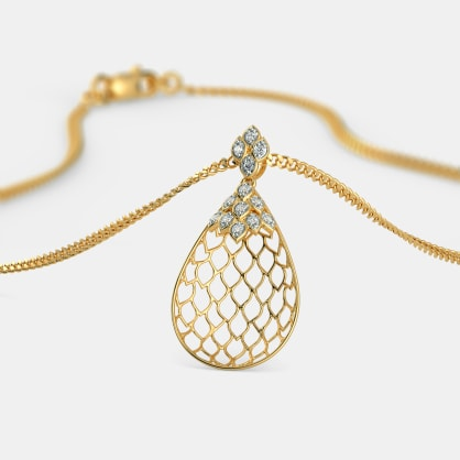 The Amelia Lattice Pendant