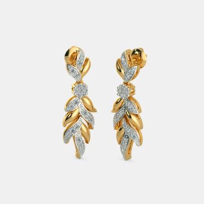 The Syrah Drop Earrings