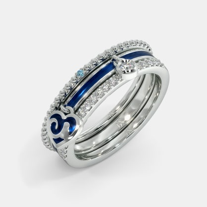 The Shelley Cloud Stackable Ring