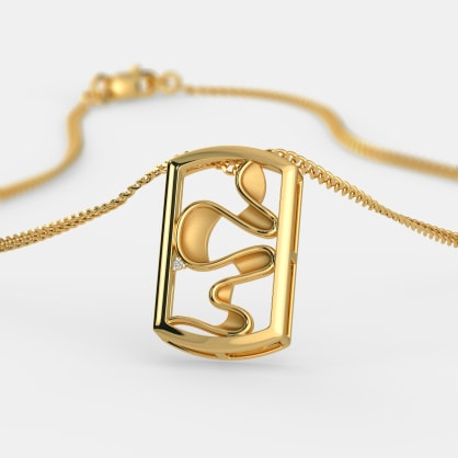 The Techno Abstract Pendant