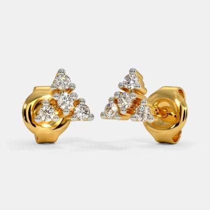 The Kahua Multi Pierced Stud Earrings