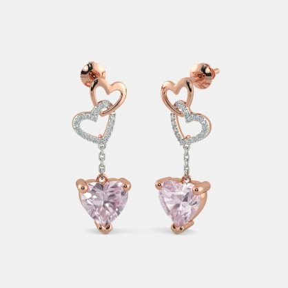 The Phoebe Heart Earrings
