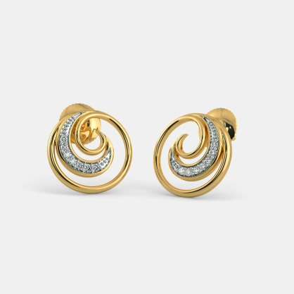 The Lyra Stud Earrings
