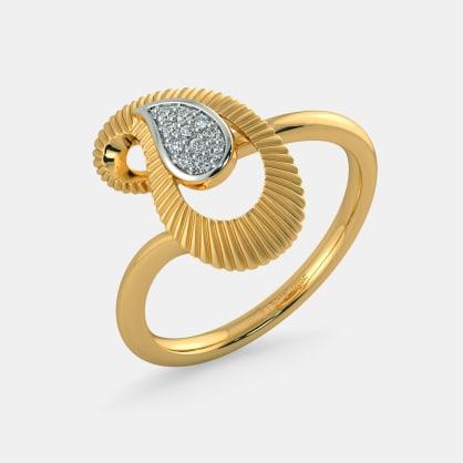 The Pranita Paisley Ring