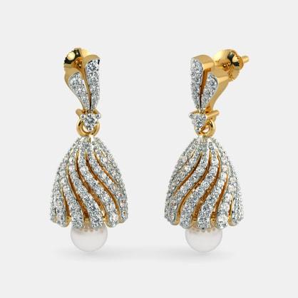 The Jeweled Zahira Jhumka
