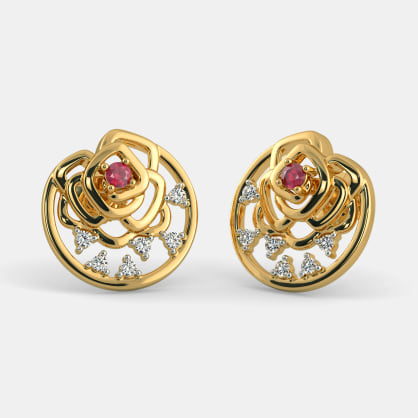 The Loving Rose Stud Earrings