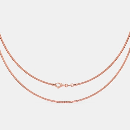 The Lucent Rose Gold Chain