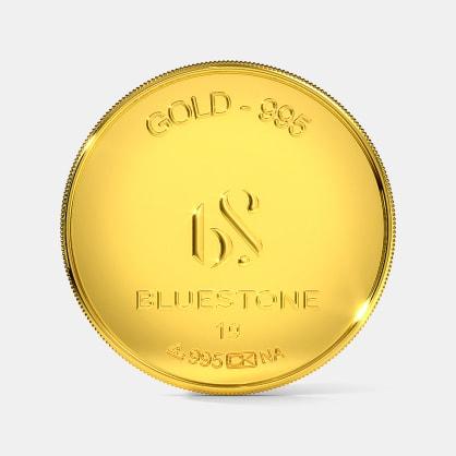 1 gram 24 KT Gold Coin