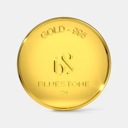 2 gram 24 KT Gold Coin