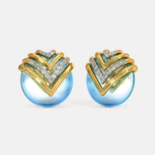 The Daysha Stud Earrings