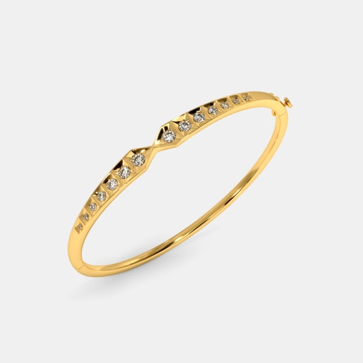 The Kantal Oval Bangle