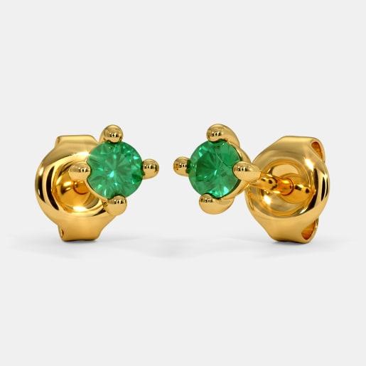 The Kina Multi Pierced Stud Earrings