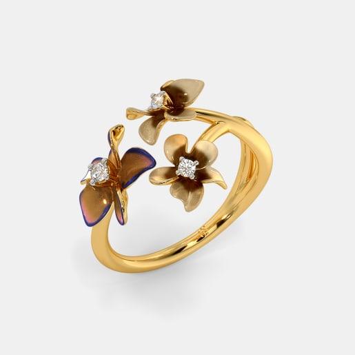 The Enchanting Flora Ring