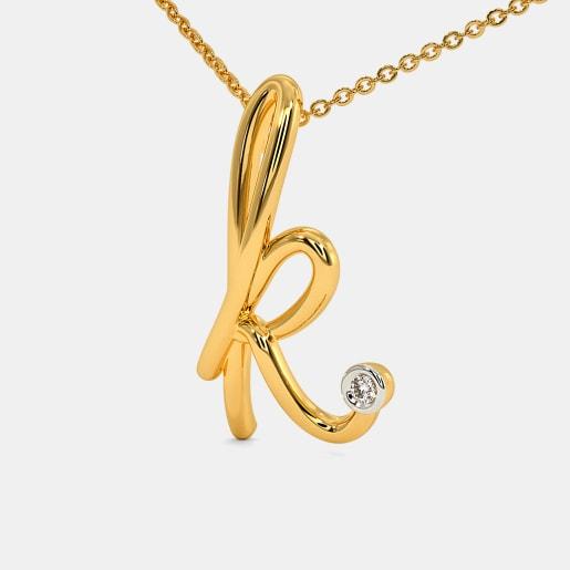 The Cursive K Necklace