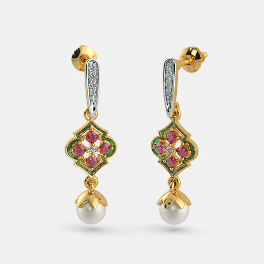 The Nabiah Drop Earrings