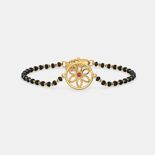 The Kiya Mangalsutra Bracelet