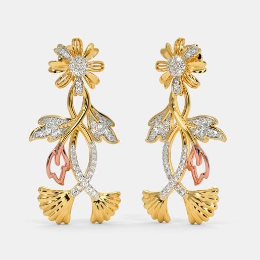 The Rosary Drop Earrings