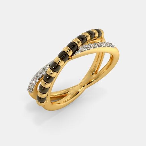 The Aksharaya Mangalsutra Ring